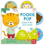 Pookie Pop Plays Hide and Seek : Tiny Tabs Series : Book 4 - Jannie Ho