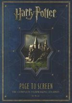 Harry Potter : Page to Screen - Bob McCabe