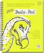 Dodo Pad Desk Diary 2014 - Calendar Year Week to View Diary : A Combined Family Diary-doodle-memo-message-engagement-organiser-calendar-book - Naomi McBride
