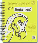 Dodo Pad Mini / Pocket Diary 2014 - Calendar Year Pocket Diary : A Combined Family Diary-Doodle-Memo-Message-Engagement-Organiser-Calendar-Book - Naomi McBride