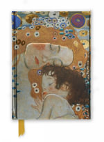 KLIMT Three Ages of Woman (Foiled Journal) : Flame Tree Notebooks : Number 4 - Flame Tree