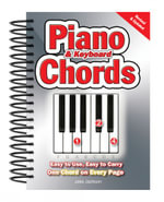 Piano And Keyboard Chords : Easy to Use. Easy to Carry. One Chord on Every Page. - Jake Jackson