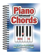 Advanced Piano Chords : Easy to Use, Easy to Carry, One Chord on Every Page - Jake Jackson