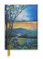 Tiffany Leaded Landscape with Magnolia Tree (Foiled Journal) : Flame Tree Notebooks : Book 8 - Flame Tree