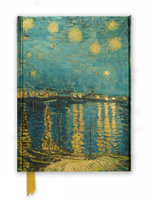 Van Gogh Starry Night Over the Rhone (Foiled Journal) : Flame Tree Notebooks - FLAME TREE
