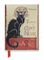 Flame Tree Notebook (Steinlen Tournee du Chat Noir)