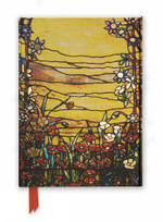 Flame Tree Notebook (Tiffany Red Flowers and a Stream)