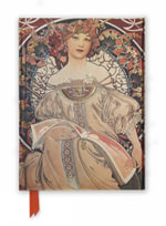 Mucha Reverie (Foiled Journal) : Flame Tree Notebooks : Number 16 - Flame Tree