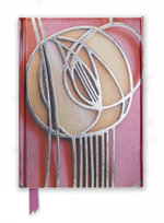Mackintosh Rose Motif (Foiled Journal) : Flame Tree Notebooks : Number 19 - Flame Tree