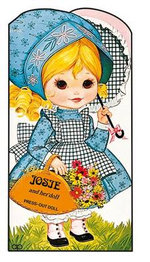 Josie and Her Doll : Press Out Doll Book - AWARD