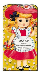Mary and the Fancy-dress Parties : Press Out Doll Book - AWARD
