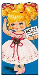 Betty the Ballerina : Press Out Doll Book - AWARD