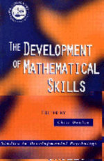 The Development of Mathematical Skills : Studies in Developmental Psychology