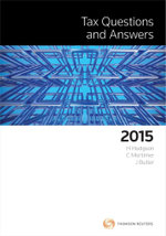 Tax Questions and Answers 2015