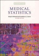 Essentials of Medical Statistics : The Essentials Series - Betty R. Kirkwood