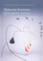Molecular Evolution : A Phylogenetic Approach - Roderick D. M. Page