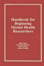 Handbook for Beginning Mental Health Researchers - Charlotte Sanborn