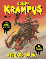 Creepy Krampus Sticker Book : No. 2 - Monte Beauchamp