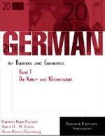 German for Business and Economics : Die Volks- Und Weltwirtschaft v.1 - Patricia Ryan Paulsell