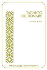 Tagalog Dictionary :  Tagalog Dictionary