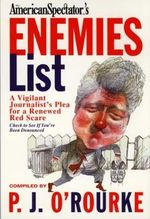 The Official American Spectators' Enemies List - P. J. O'Rourke