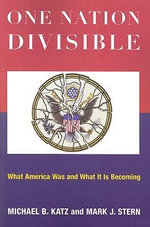 One Nation Divisible : What America Wants and What it is Becoming - Michael B. Katz