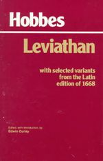 Leviathan: With Selected Variants from the Latin Edition of 1668 : with Selected Variants from the Latin Edition of 1668 - Thomas Hobbes