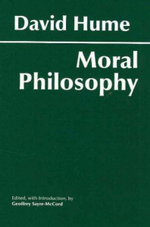Hume : Moral Philosophy - David Hume
