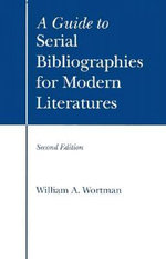 GT Serial Bibliographies F-2/E - William A Wortman