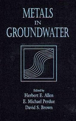 Metals in Ground Water - Herbert E. Allen