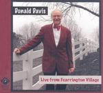 Live from Fearrington Village - Donald Davis