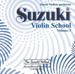 Suzuki Violin School, Vol 3 : Suzuki Method Core Materials - David Nadien