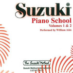 Suzuki Piano School, Vol 1 & 2 - William Aide