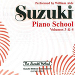 Suzuki Piano School, Vol 3 & 4 : Volumes 3 & 4 - William Aide