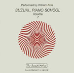 Suzuki Piano School, Volume 7 : Suzuki Method - William Aide