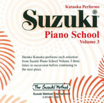 Suzuki Piano School, Vol 3 : Suzuki Method Core Materials - Haruko Kataoka