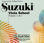 Suzuki Viola School : Suzuki Method Core Materials - William Preucil