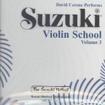 Suzuki Violin School, Vol 3 : Suzuki Violin School - David Cerone