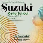 Suzuki Cello School : Volume 3 & 4 - Tsuyoshi Tsutsumi