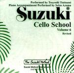 Suzuki Cello School, Volume 6 : Suzuki Method - Tsuyoshi Tsutsumi