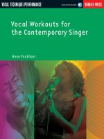 Vocal Workouts for the Contemporary Singer with CD (Audio) - Anne Peckham