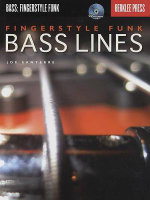 Fingerstyle Funk Bass Lines (Book and CD) : Bass: Fingerstyle Funk - Joe Santerre