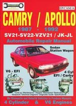 Camry / Apollo 1987 - 1992 : Automobile Repair Manual - Max Ellery Publications