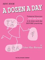 A Dozen a Day Mini Book - Edna Mae Burnam