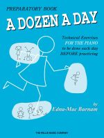 A Dozen a Day Preparatory Book - Edna Mae Burnam