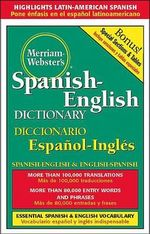 Merriam-Webster's Spanish-English Dictionary - MERRIAM-WEBSTER