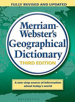 Merriam Webster's Geographical Dictionary - MERRIAM-WEBSTER