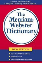 Merriam-Webster's Dictionary - Merriam-Webster