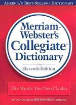 11th Collegiate Dictionary : Merriam-Webster's Collegiate Dictionary (Laminated) - Merriam-Webster