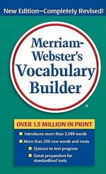 M-W Vocabulary Builder - Mary Wood Cornog